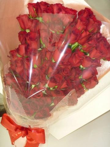 クリスマスにバラの花束を贈りませんか♪