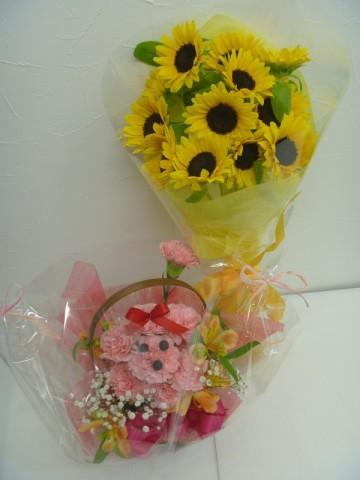 バレエの発表会に、可愛いお花をプレゼント♪
