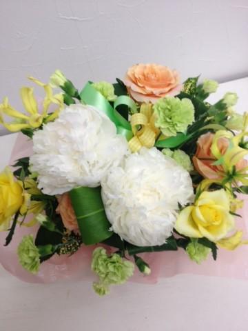 大切な人からのプレゼントの花束・アレンジメントを押し花額に残しませんか♪
