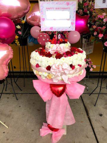 欅坂46全国握手会・個別握手会 祝い花(スタンド花)