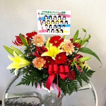 けやき坂46 1thアルバム『走り出す瞬間』個別握手会in愛知吹上ホール 祝い花②