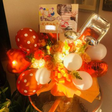 握手会・コンサート・ライブ・イベント・お誕生日にバルーンアレンジを全国配送します♪