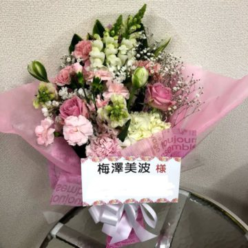 5月11日乃木坂46・5月12日日向坂46 握手会お祝い花の受付けについてお知らせです。